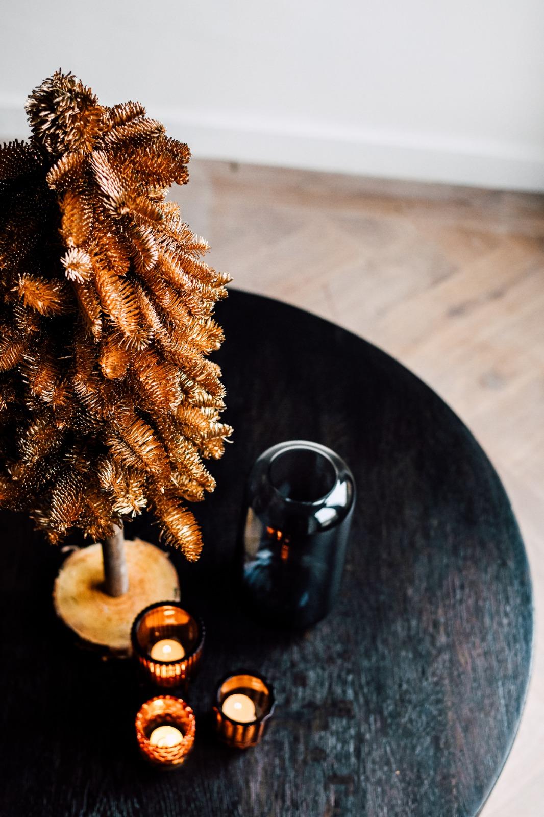 Gouden kerstboom Greenflor